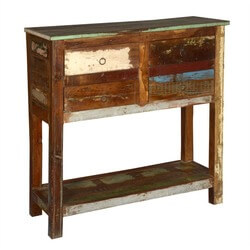 2-tier-reclaimed-wood-console-table-with-4-drawers