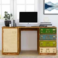 steam-punk-4-drawer-mango-wood-iron-2-section-home-office-desk