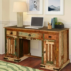 gothic-rustic-double-pedestal-reclaimed-wood-office-desk