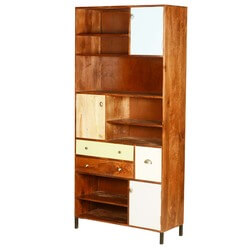 60s-retro-mango-wood-76-open-display-13-compartment-cabinet