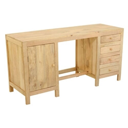 contemporary-mango-wood-double-pedestal-desk