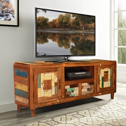 rounded-corners-mosaic-reclaimed-wood-rustic-tv-media-cabinet