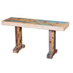 bright-colors-reclaimed-wood-double-pedestal-hall-console-table