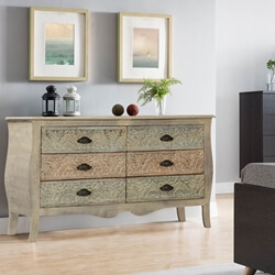 french-provincial-mango-wood-bombe-6-drawer-double-dresser