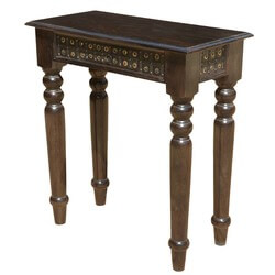 Nottingham Gothic Solid Wood Hall Console Table