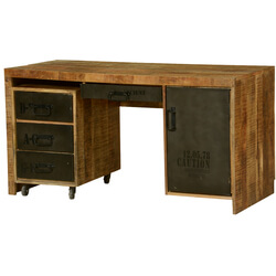 industial-urban-blend-wood-iron-pedestal-desk-work-center