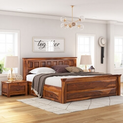 rustic platform beds with storage. simply tudor rustic solid wood platform bed w storage beds with