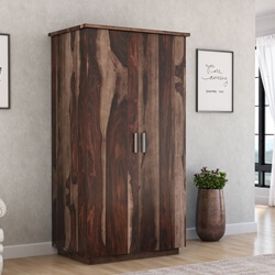 Hampshire Solid Wood Modern Tall Armoire
