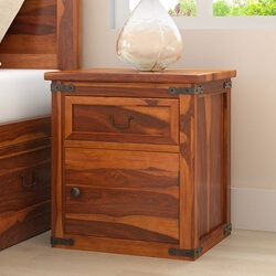classic-shaker-solid-wood-nightstand-w-drawer-cabinet