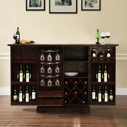 lincoln-study-blue-gold-mango-wood-wine-bar-cabinet