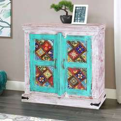 casablanca-35-hand-painted-floral-tiled-solid-wood-storage-cabinet