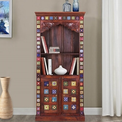 dutch-71-rainbow-tiles-rustic-mango-wood-open-display-cabinet