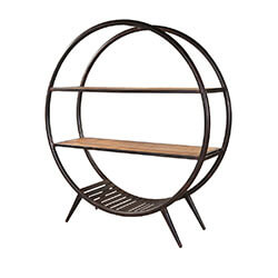 circle-shape-mango-wood-industrial-open-bookcase