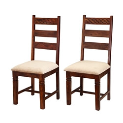 handcrafted-solid-wood-2pc-upholstered-ladder-back-chairs
