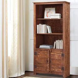modern-pioneer-70-mango-wood-display-rustic-bookcase