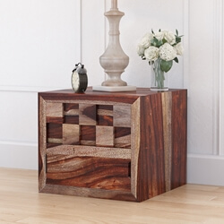 checkered-solid-wood-captains-nightstand-with-flip-door-cabinet