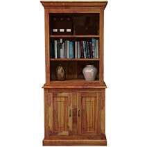 Solid Wood Standard Bookcase Storage Cabinet