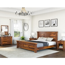 Modern Farmhouse 7 Piece Bedroom Collection