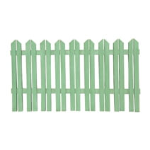 "Country Lane Pallet Wood Green 84"" Picket Fence"