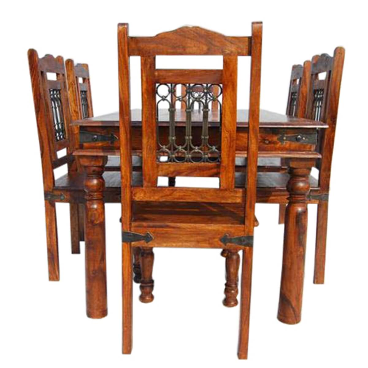 Chippendale Dining Room Table Philadelphia Dining Room Table And Chair Set W Wrought