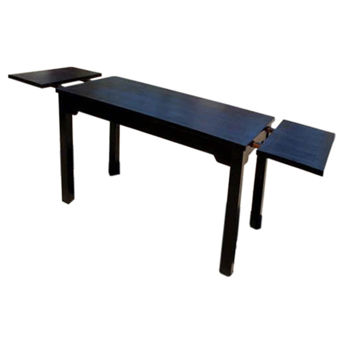 Oklahoma Ebony 9pc Dining Table Chair Set W Extension