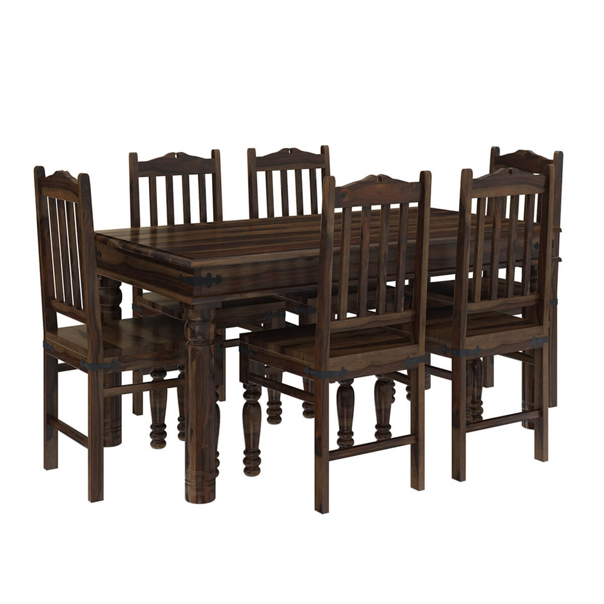 farmhouse dining set oklahoma farmhouse traditional 5pc solid wood country 29154
