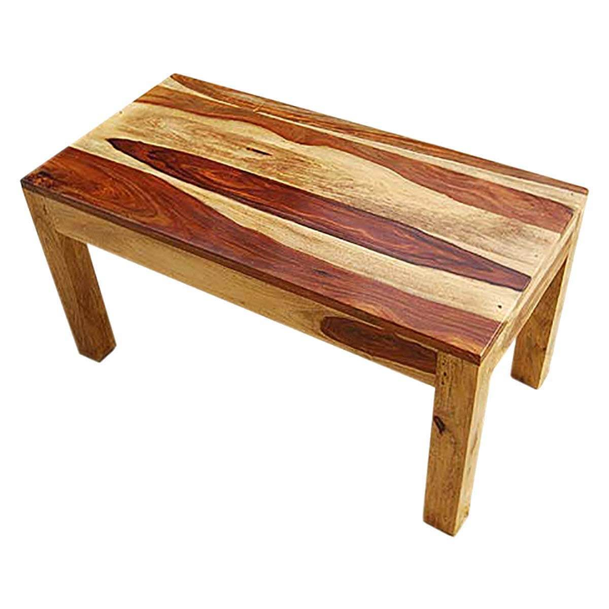 Wausau Simplistic Handcrafted 100 Solid Wood Coffee Table