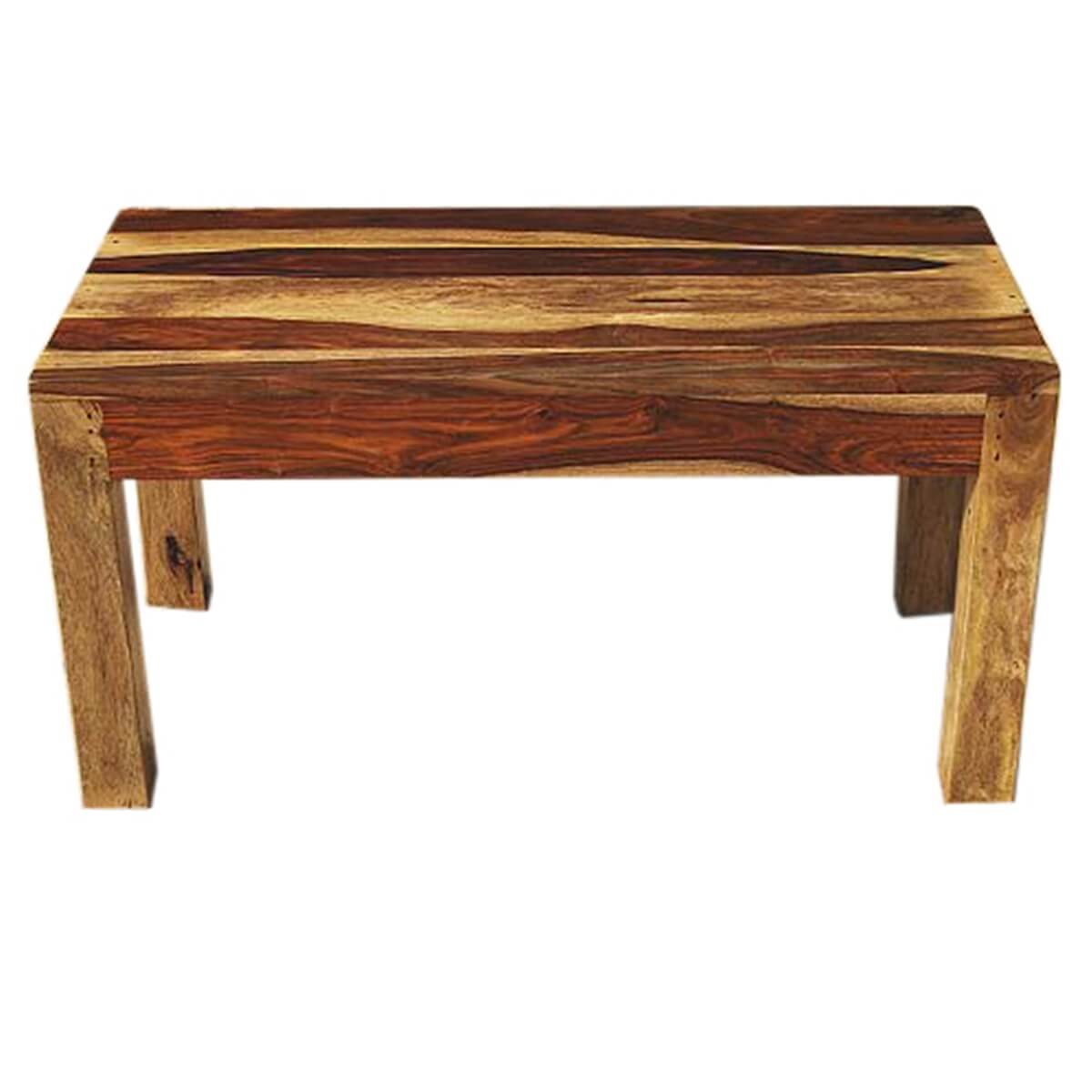 wausau simplistic handcrafted 100 solid wood coffee table. Black Bedroom Furniture Sets. Home Design Ideas