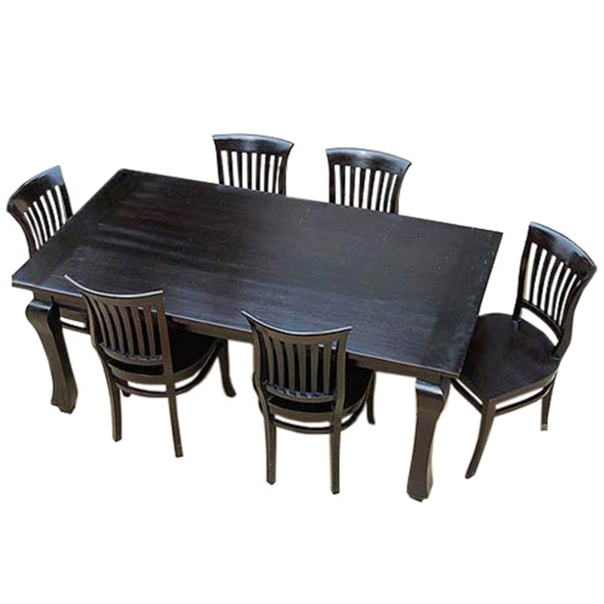 Kitchen Dining Chairs Solid Wood 8: Kansas City Solid Wood Kitchen Dining Table With School