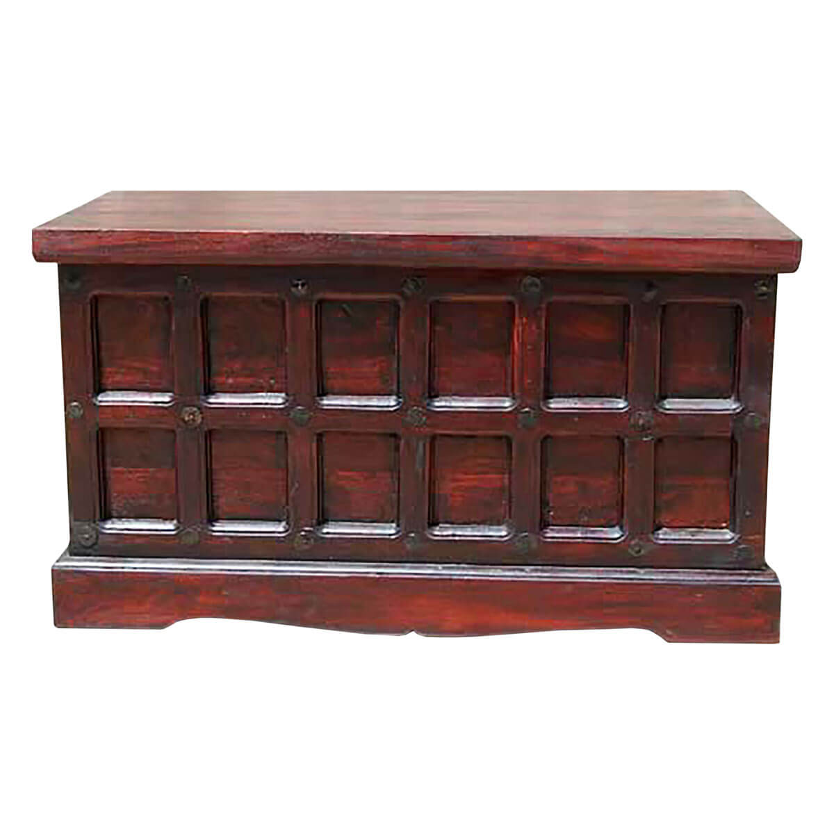 Solid Wood Chest Coffee Table: Beaufort Solid Wood Storage Chest Trunk Box Coffee Table