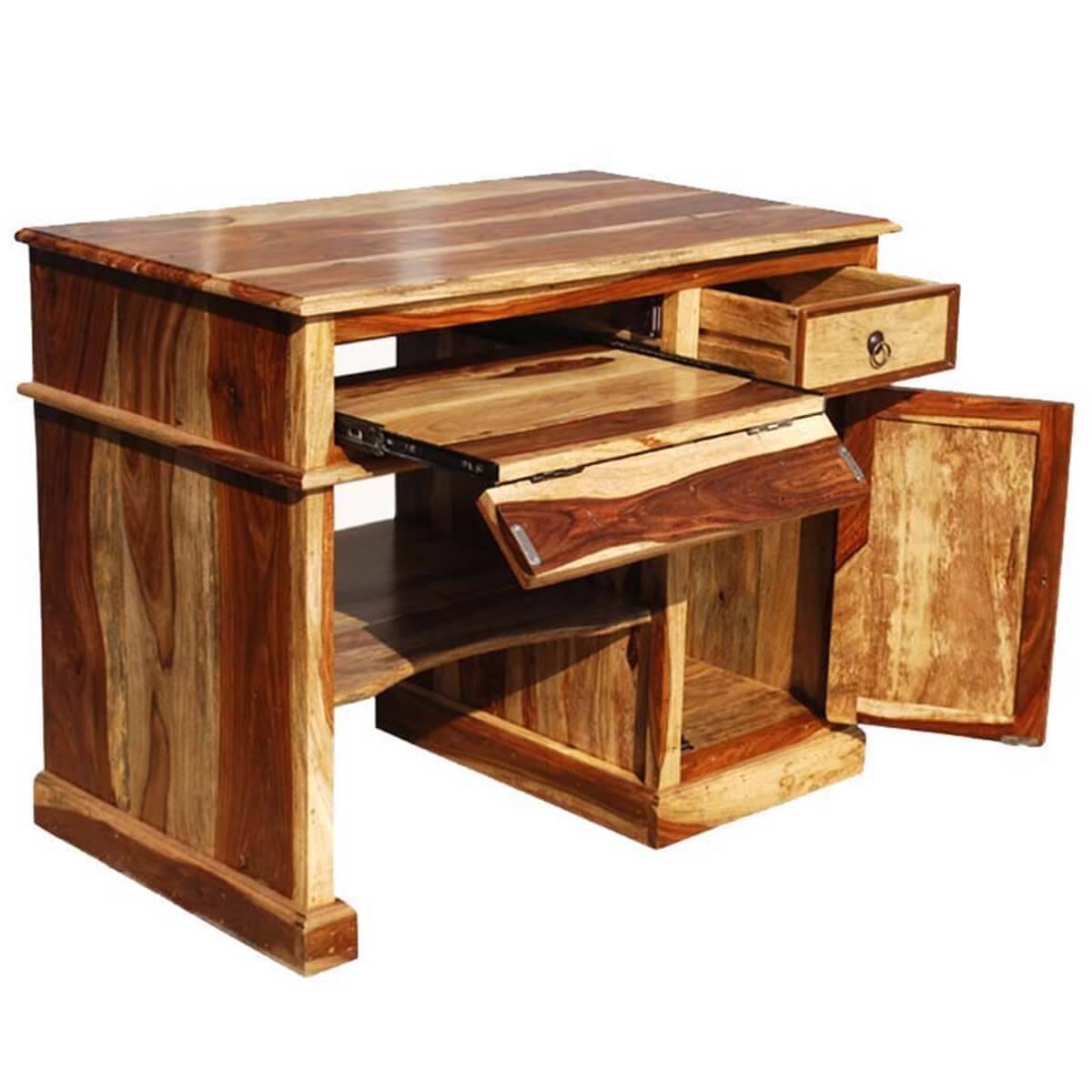 Solid Wood Computer Desk For Small E