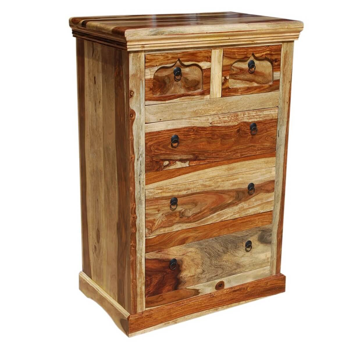 Tucson Solid Wood 5 Drawers Standard Vertical Chest