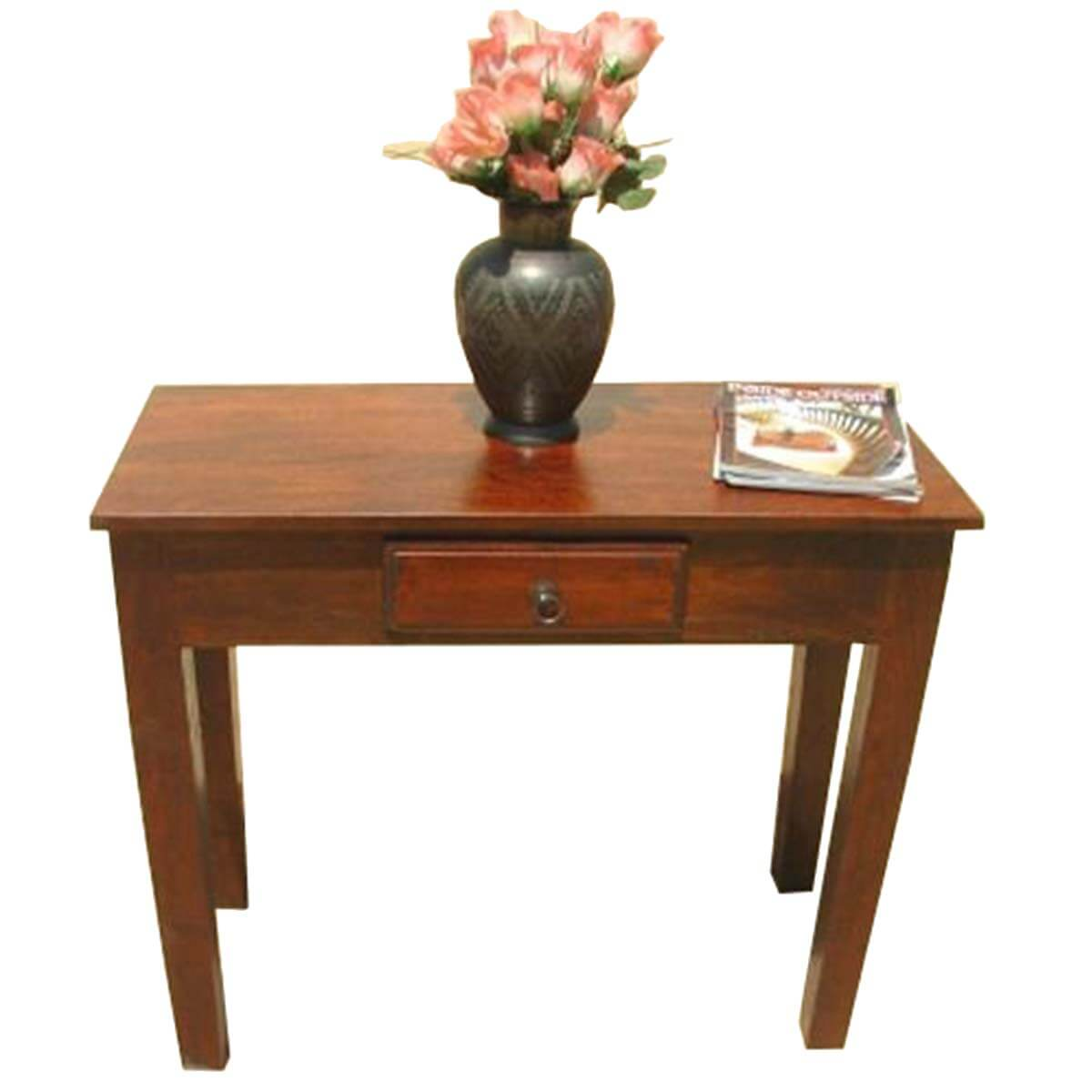 Solid wood entry sofa hall console foyer table