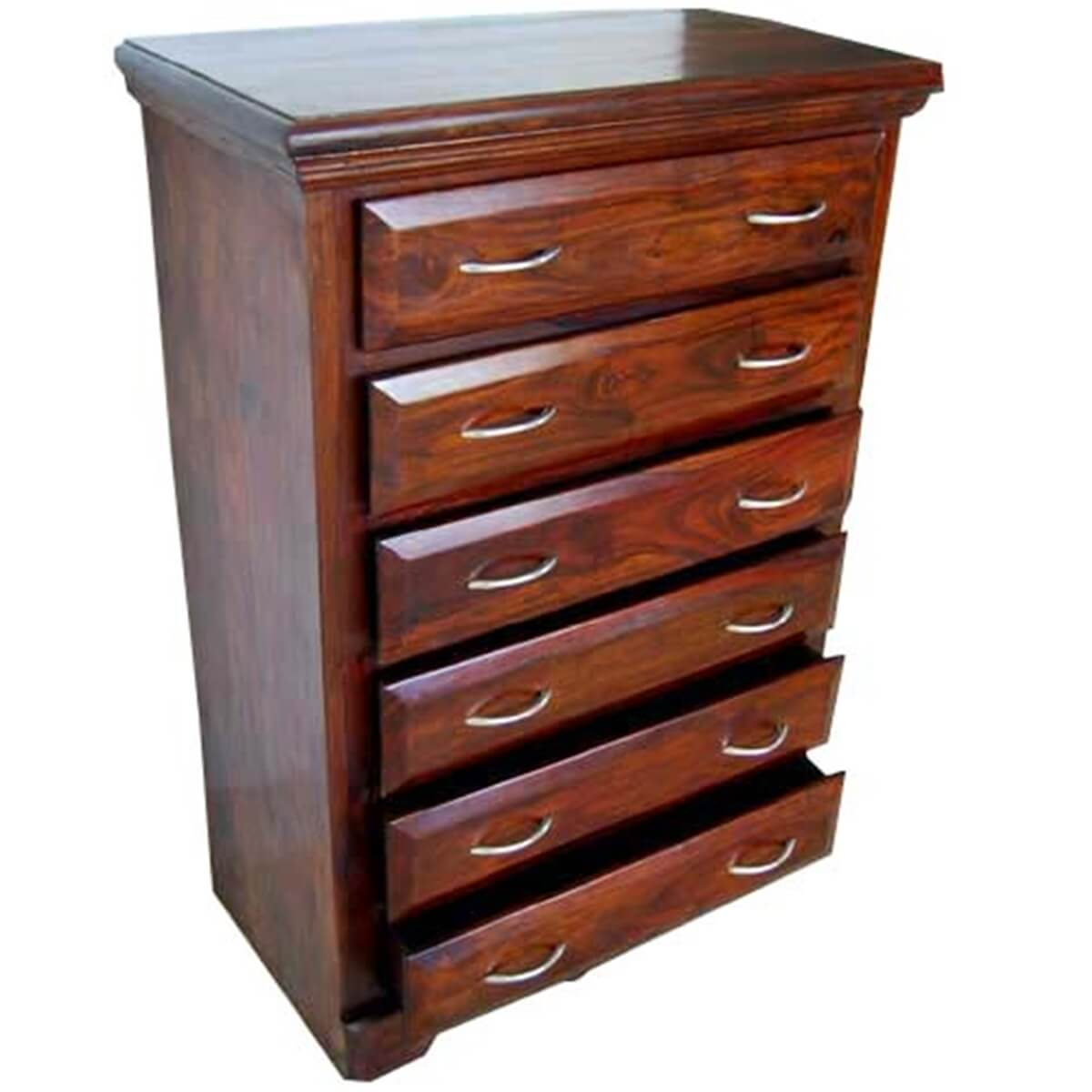 Shaker Solid Wood 6 Drawers Dresser Chest