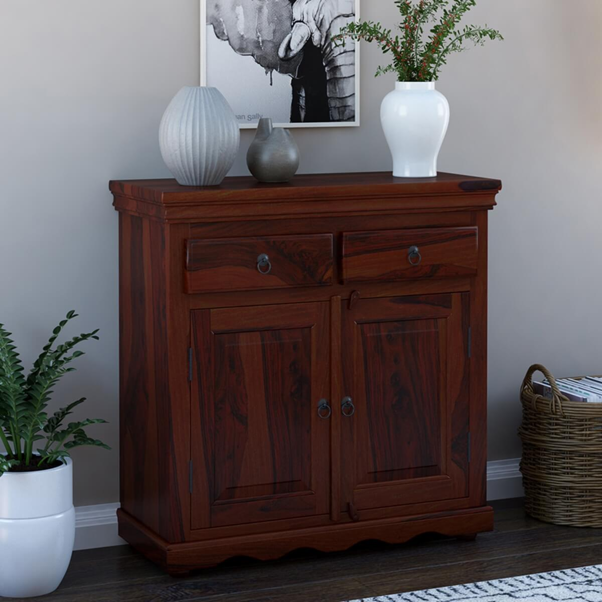 Tampa Rustic Solid Wood Handmade 2 Drawer Buffet Cabinet : 1886 from www.sierralivingconcepts.com size 1200 x 1200 jpeg 409kB