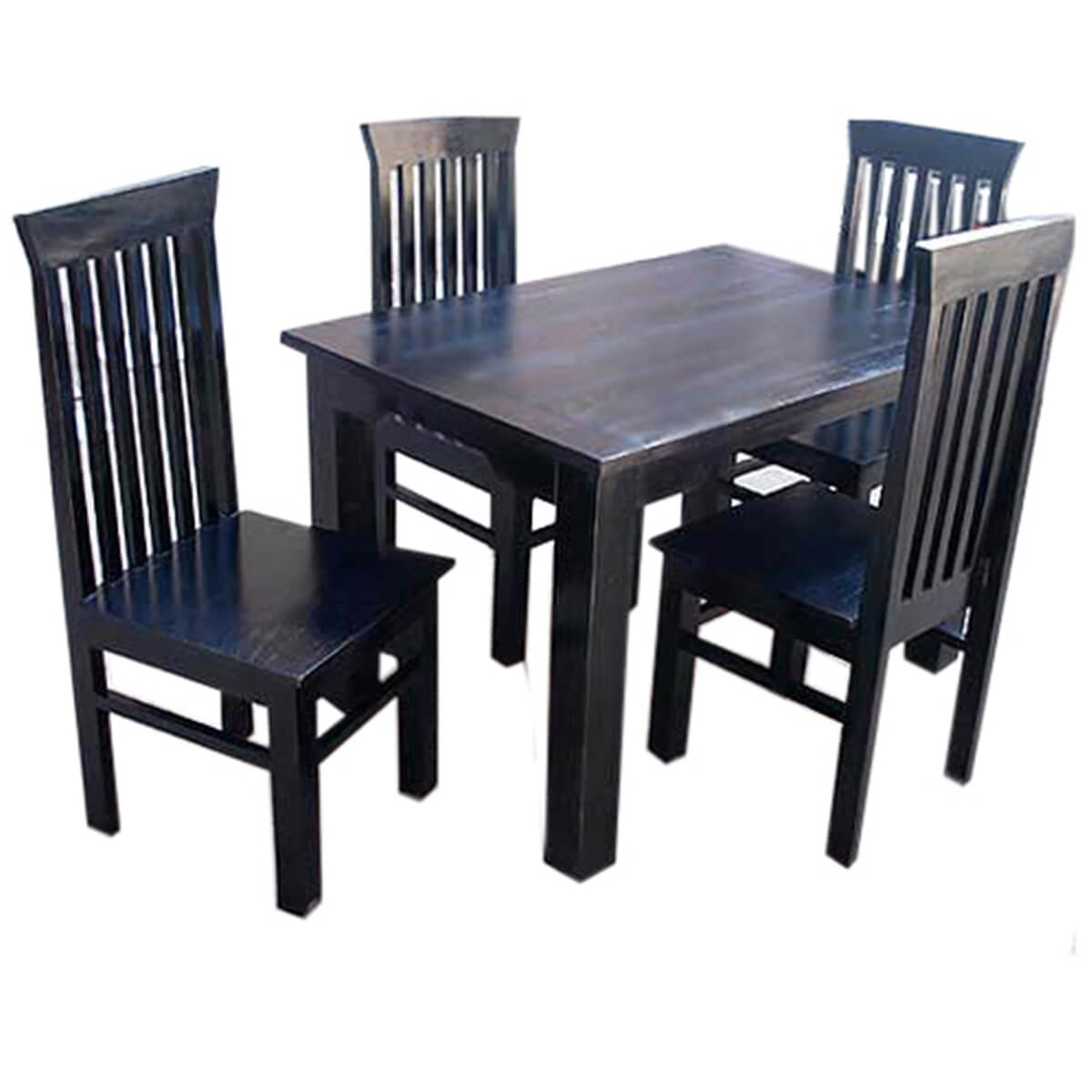 contemporary lincoln kitchen dining room table chairs set. Black Bedroom Furniture Sets. Home Design Ideas
