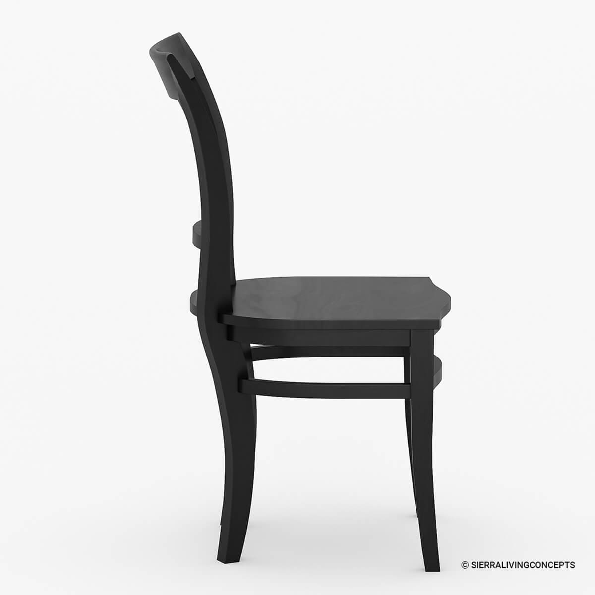Solid Wood Dining Chairs ~ Sierra nevada solid wood kitchen side dining chair furniture