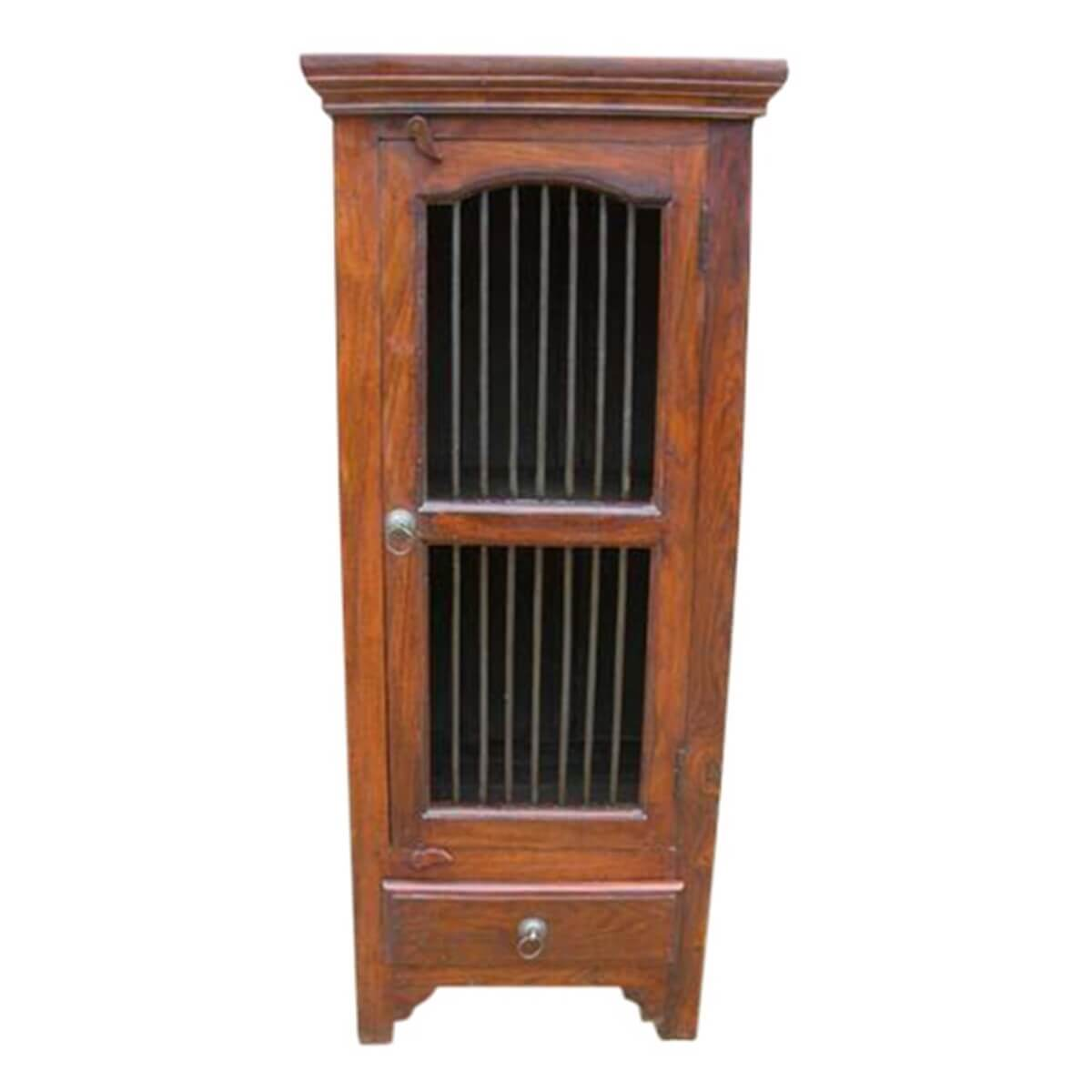 Kitchen Wardrobe Cabinet: Armoire Solid Wood Kitchen Cabinet Table