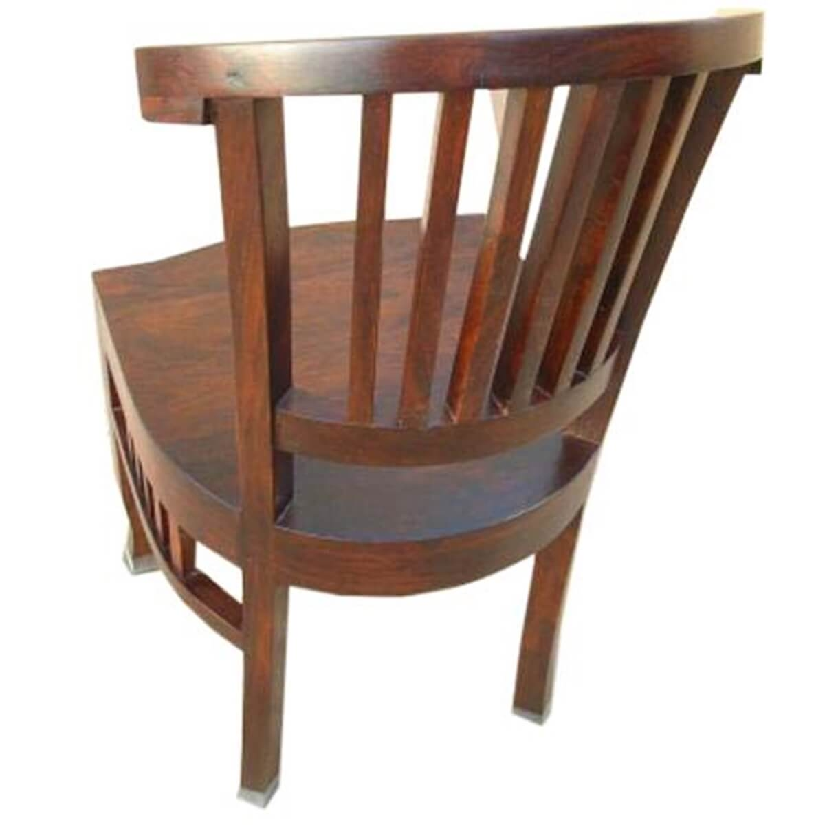 Solid Wood Modern Dining Club Office Breakfast Chair