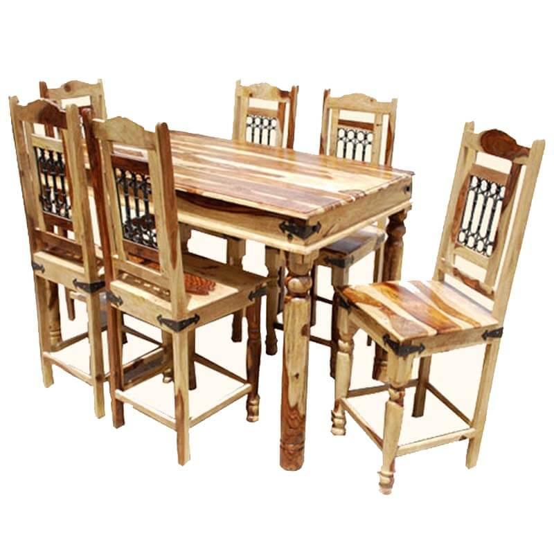 Dining Room Chair Height: Dallas Counter Height Dining Room Table & Chair Set