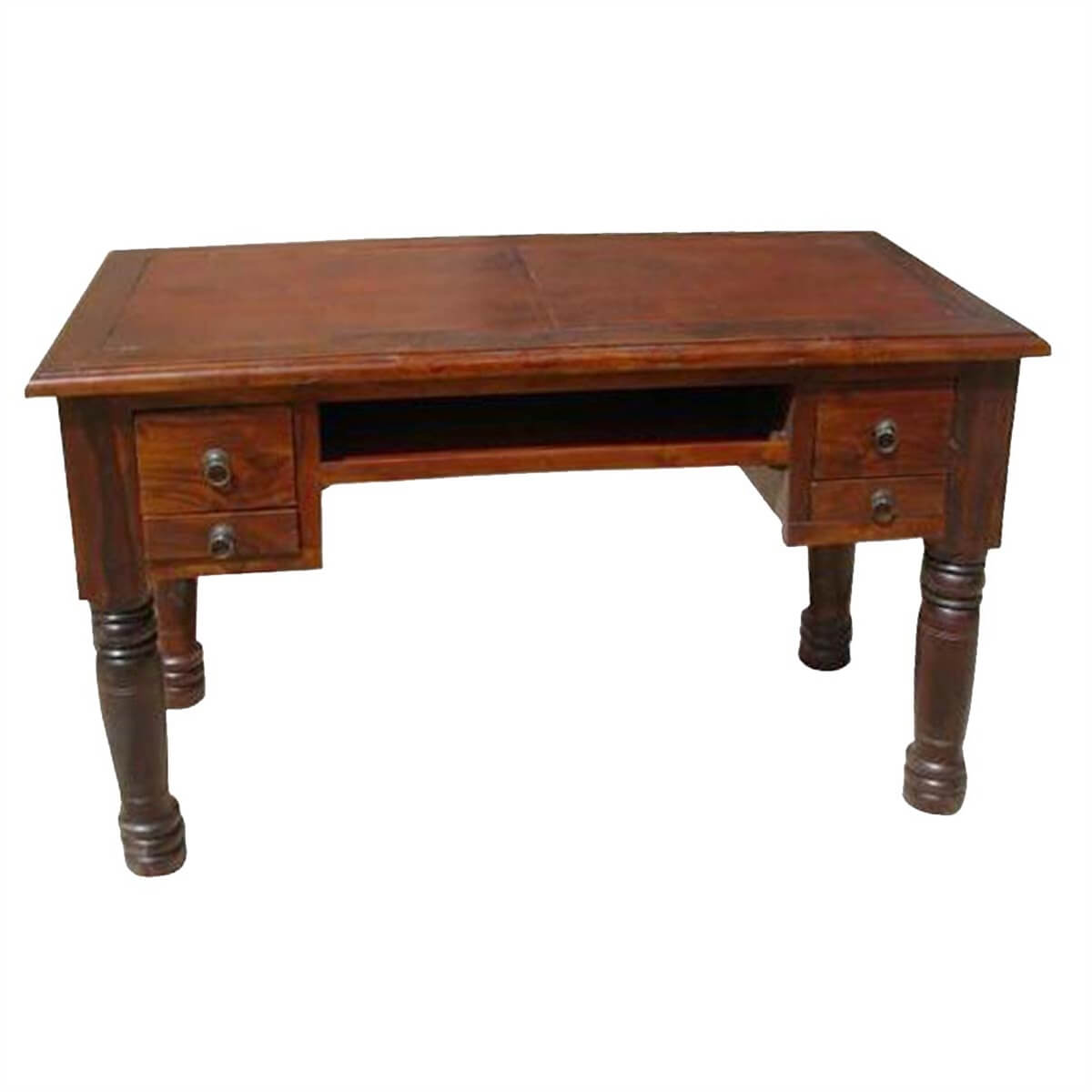 Hall Side Table wood drawer hall computer console side table desk