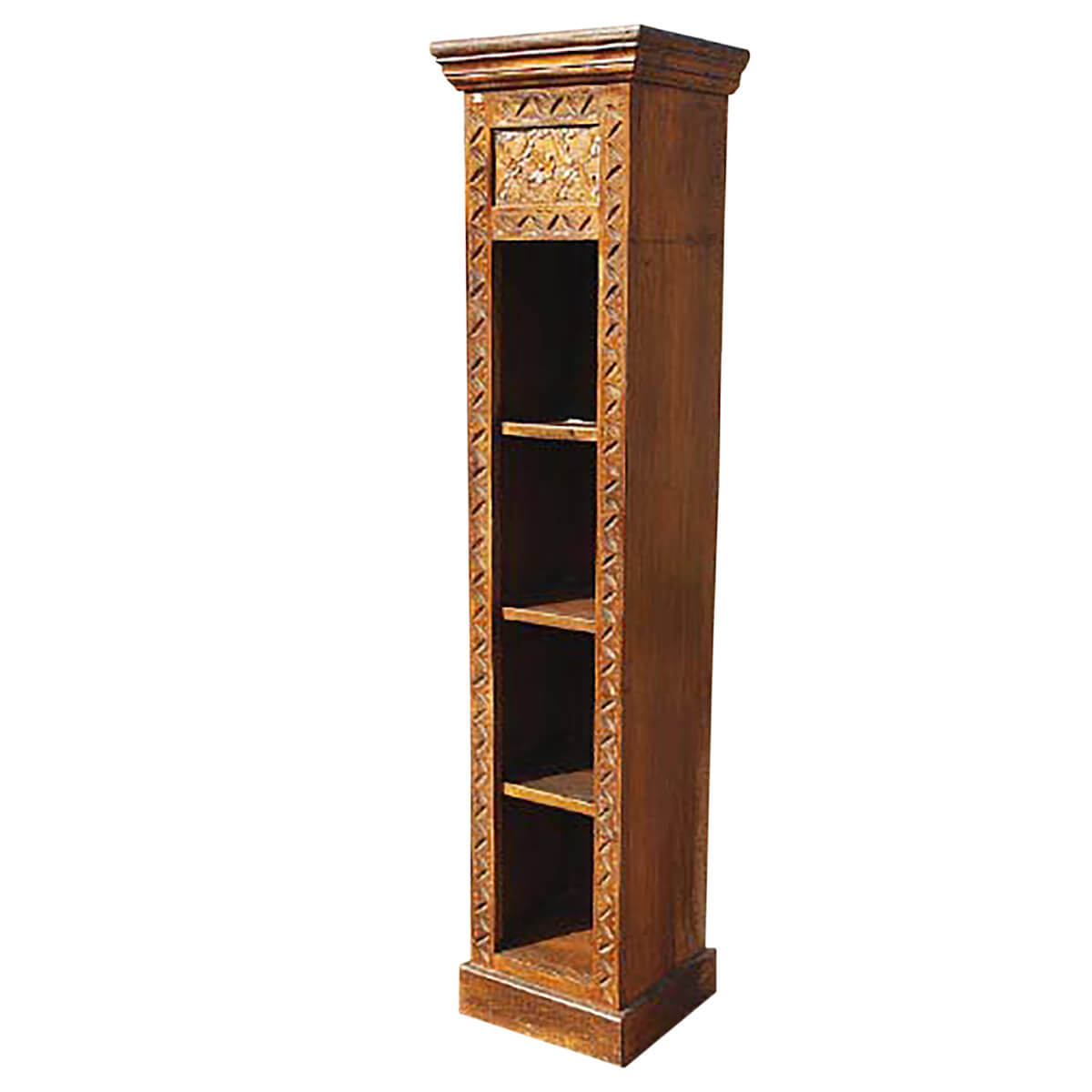 bathroom display cabinet wood display cabinet bathroom storage rack bookcase new 11468
