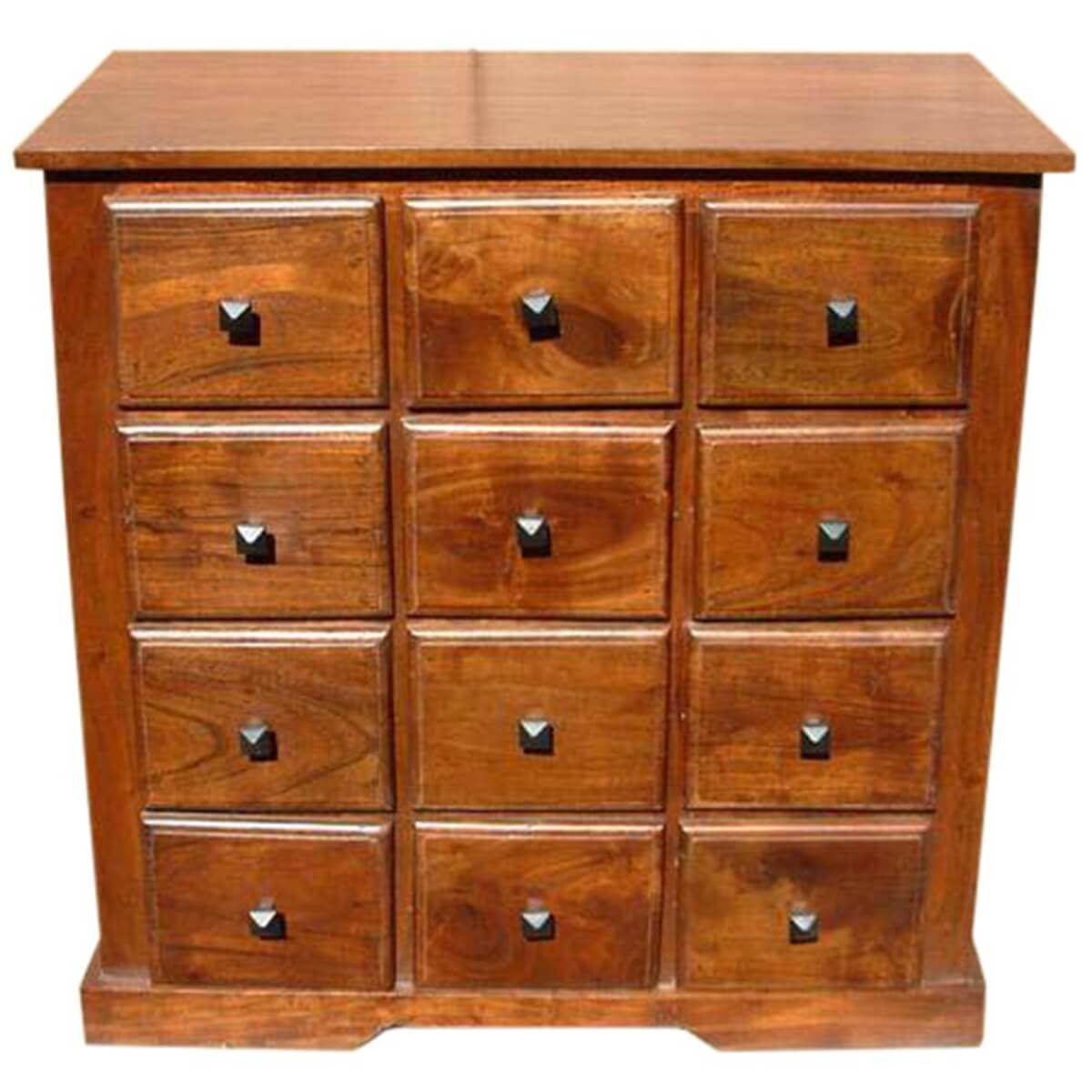 bedroom storage chest handmade wooden bedroom storage dresser chest with 12 drawers 10685