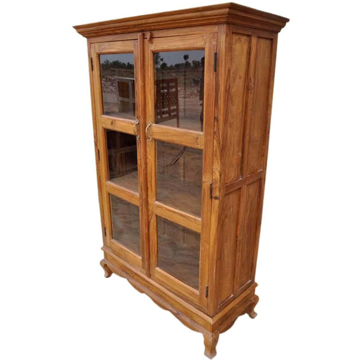 Merveilleux Inglis Solid Wood Glass Door Freestanding Bookcase