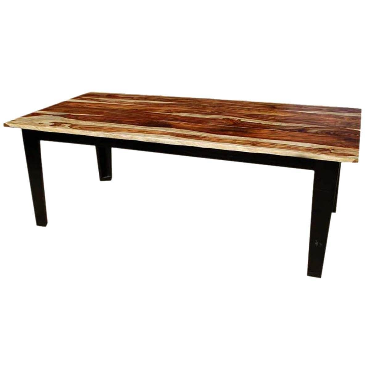 dallas ranch cariboo transitional dining room table for 6