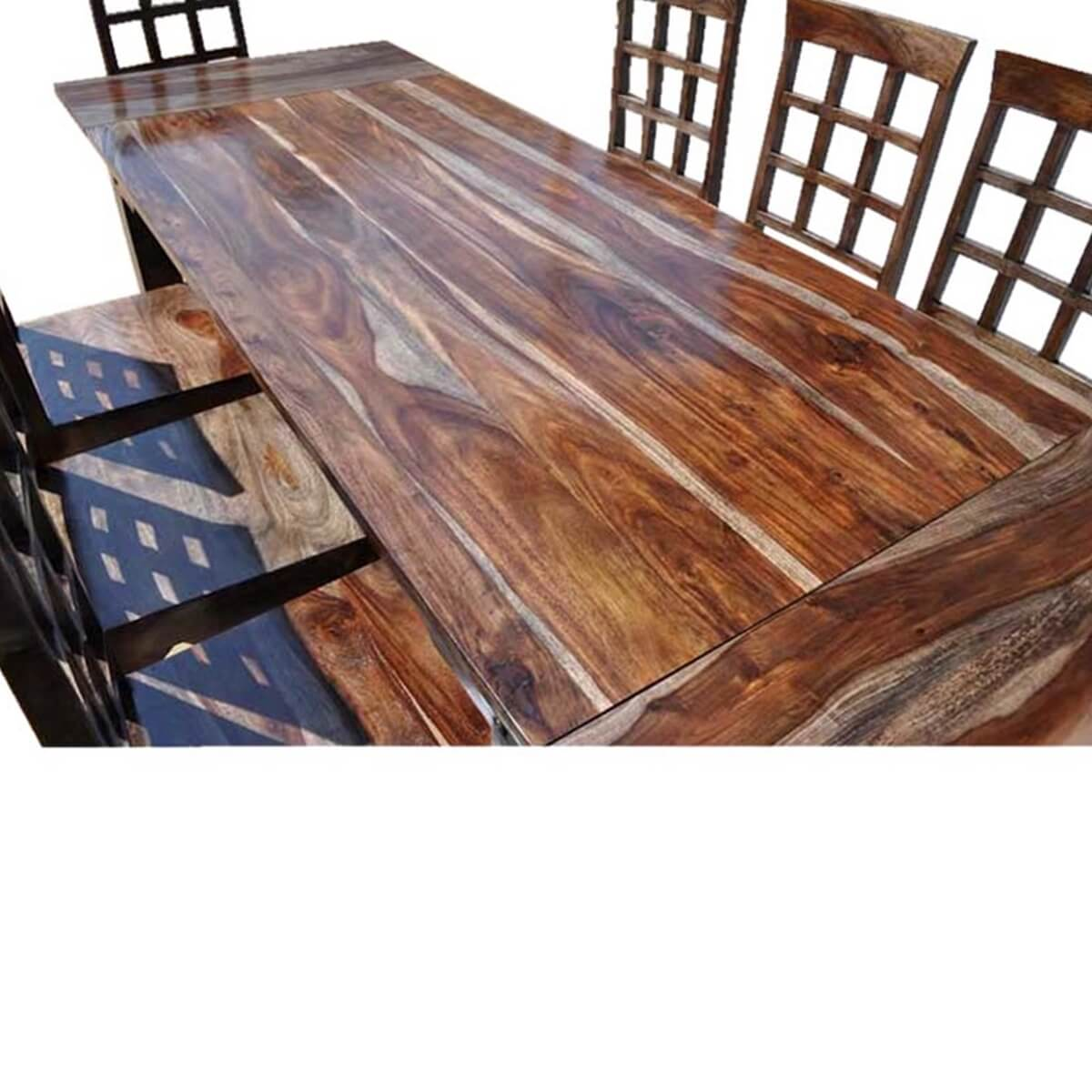 Portland Rustic Furniture Dining Room Table U0026 Chair Set W Extension