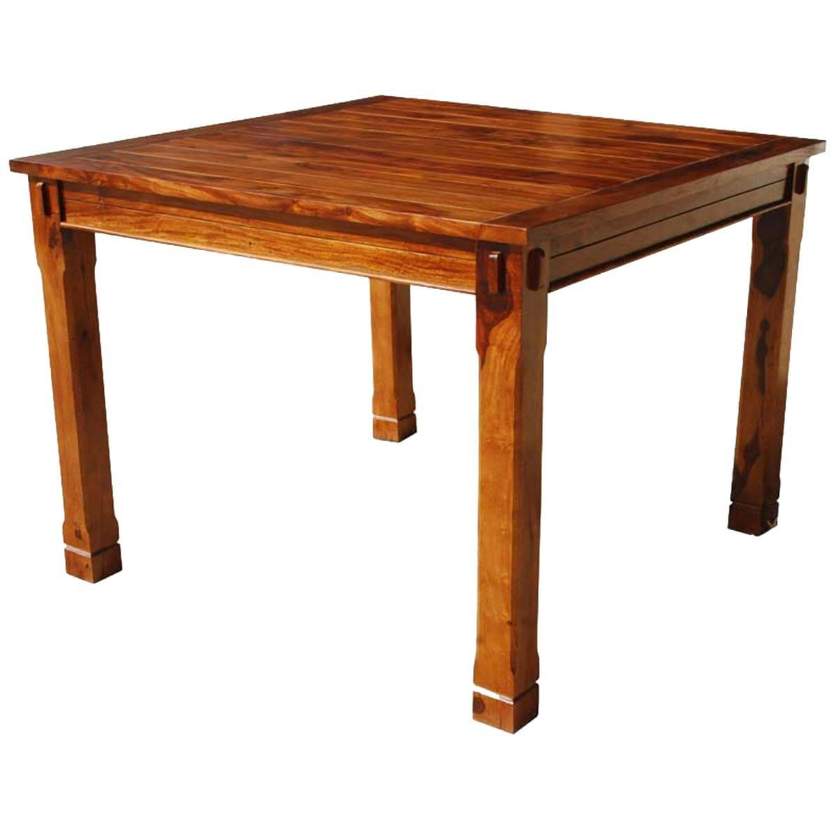 Portland contemporary solid wood square kitchen table for Dining room tables portland or
