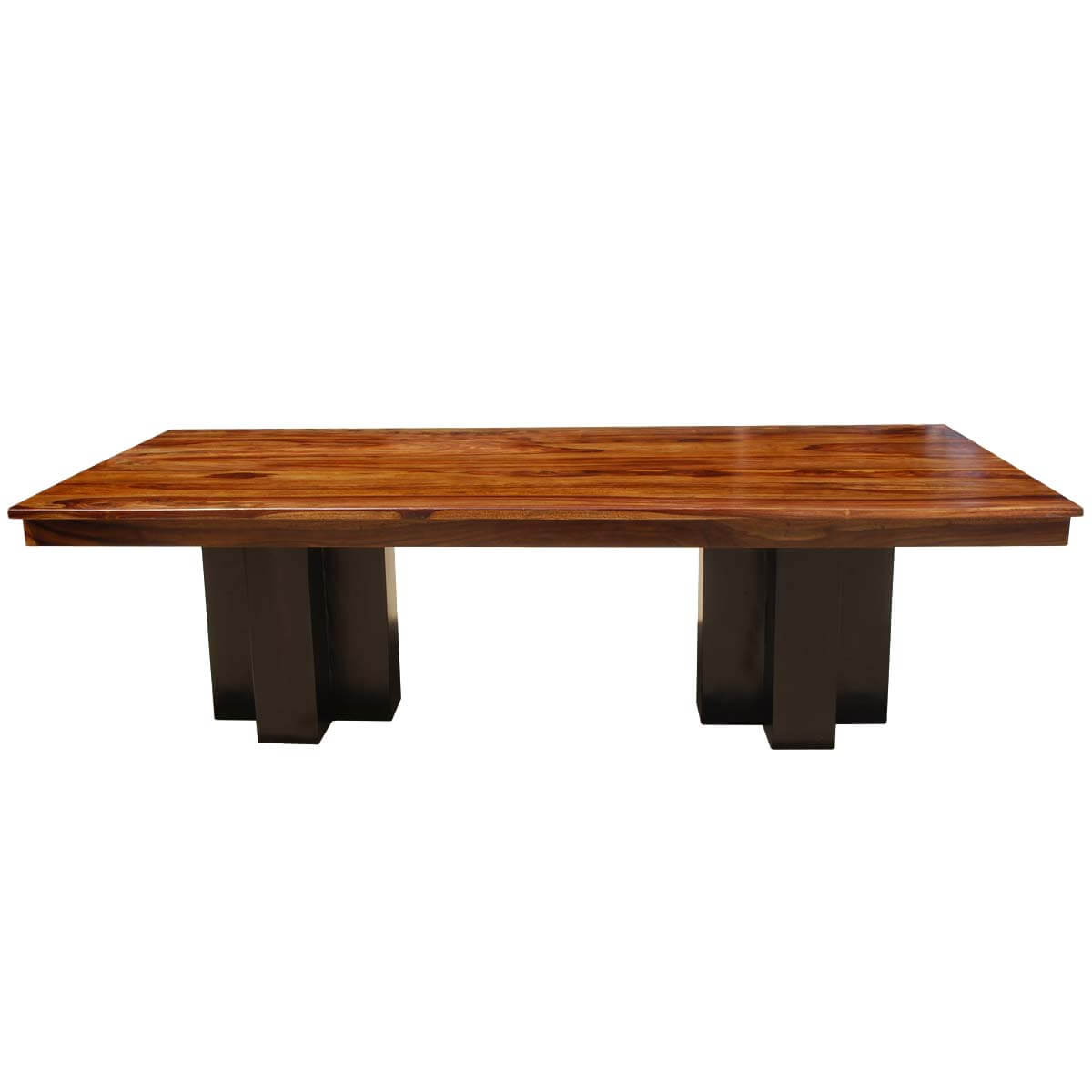 wood double pedestal large conference table w extensions