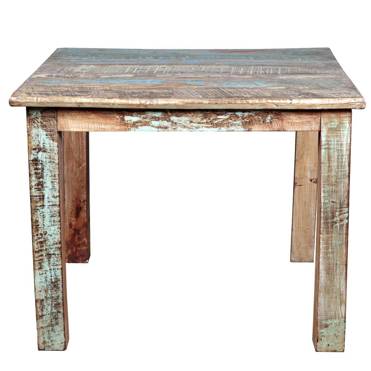 Distressed Wooden Kitchen Tables