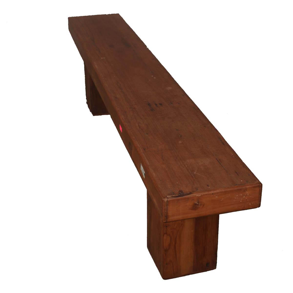 """Long Dining Bench: Contemporary Solid Wood 79"""" Long Dining Bench"""